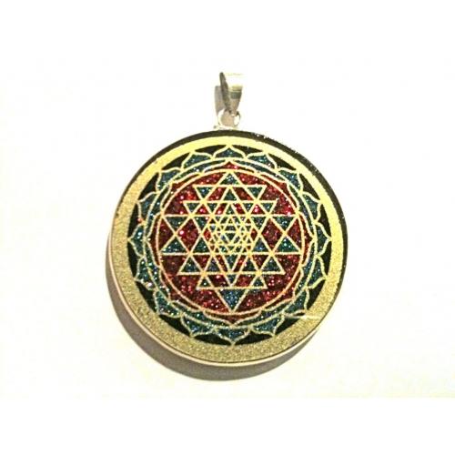 sri yantra precious pendant s flower of